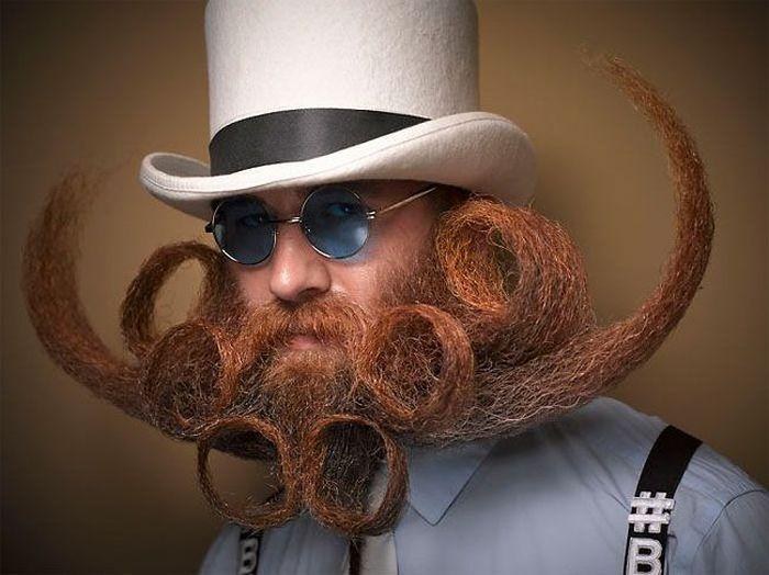 Най-доброто от турнира за бради и мустаци (СНИМКИ)