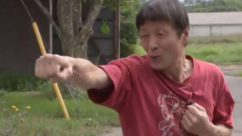 Японец пребори дива мечка с карате