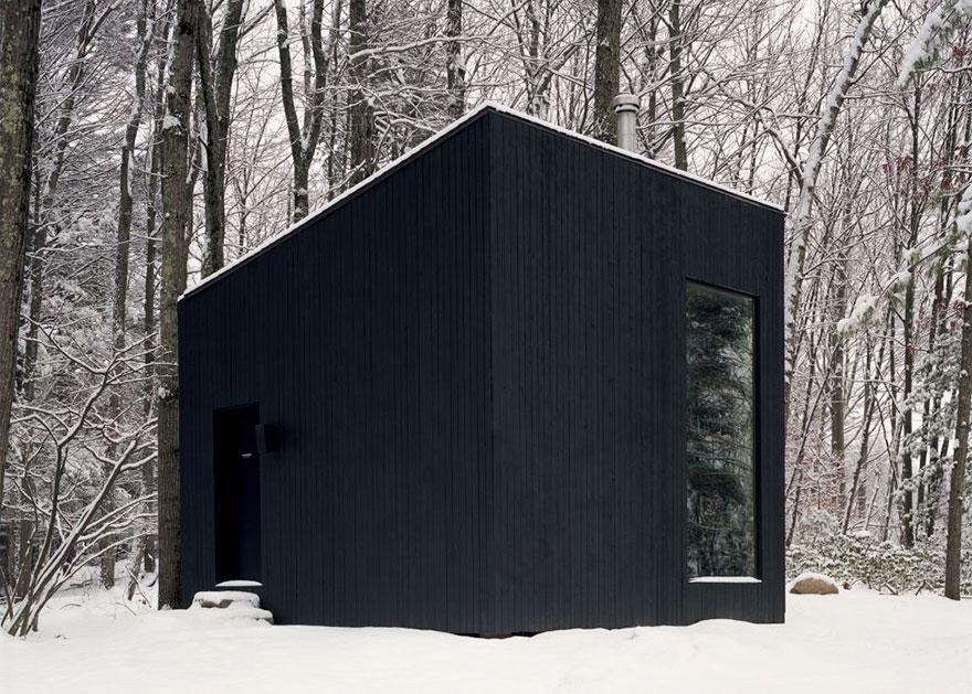 """Библиотека """"Тайната стая"""" се крие в гората на Ню Йорк (СНИМКИ)"""