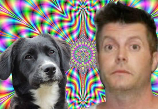 Мъж на LSD спаси куче от горяща къща, която всъщност не бе в пламъци