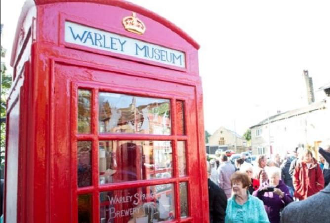 Телефонна кабина стана най-малкият музей в света