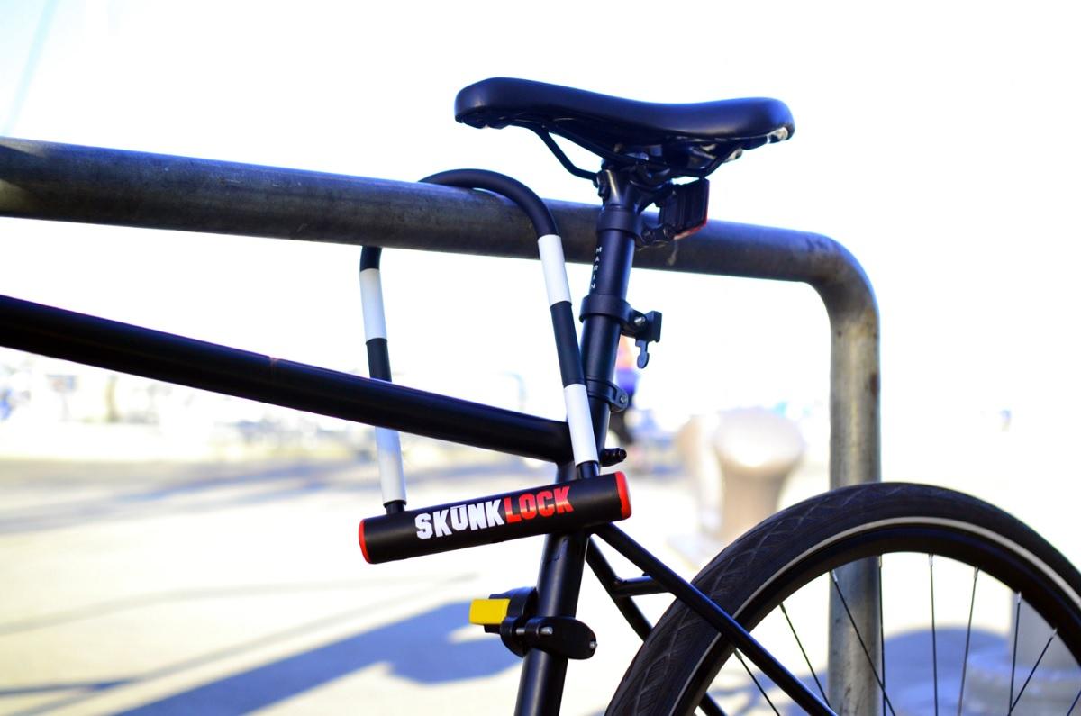 Пръдня на скункс ще пази велосипедите от айдуци