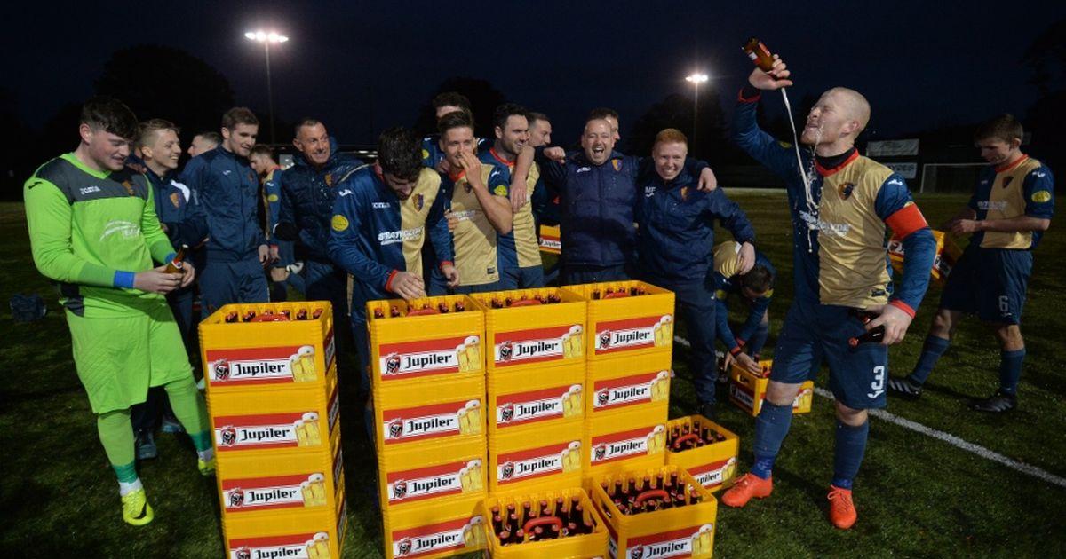 Аякс почерпи шотландски отбор с 27 каси бира (ВИДЕО)