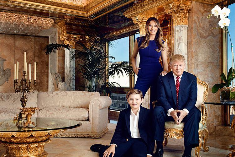 Виж златния пентхаус за 100 млн. долара, в който живее Доналд Тръмп