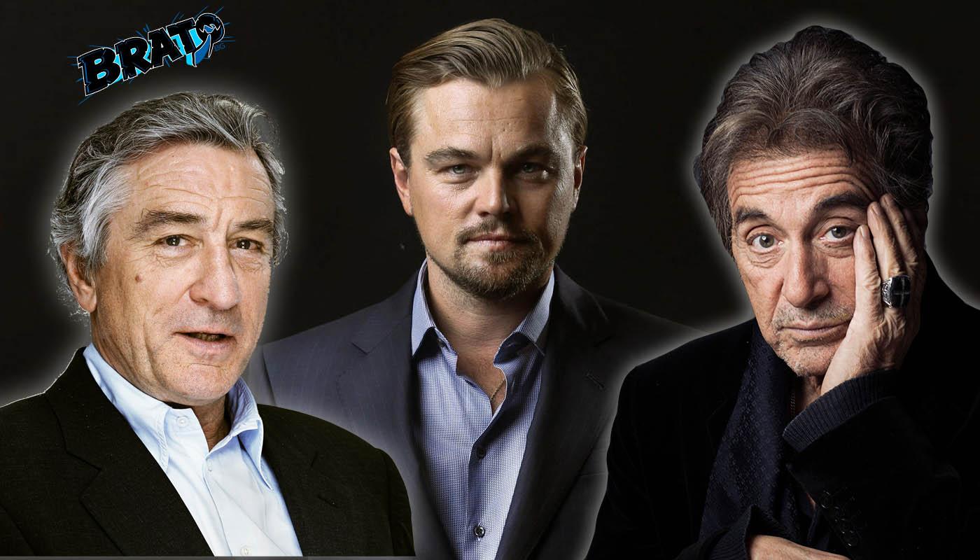 Пачино, Де Ниро и Ди Каприо в новия филм на Скорсезе