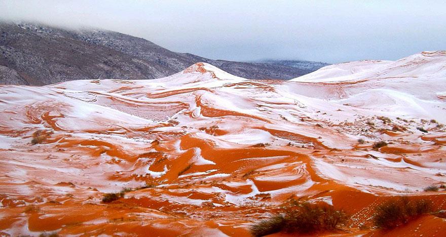 Сняг в Сахара, а зеленина ще покрие пустинята след 15 000 години