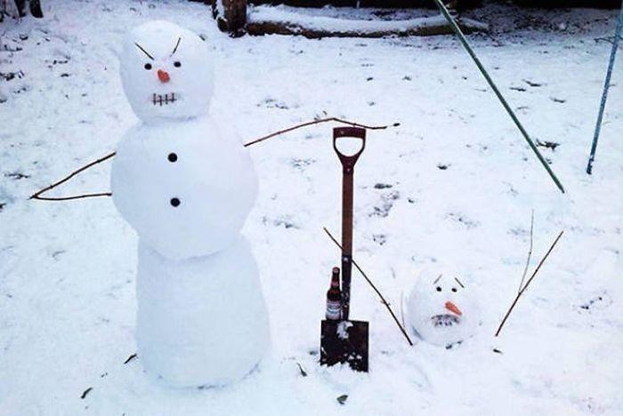 10 задължителни статуса при първи сняг