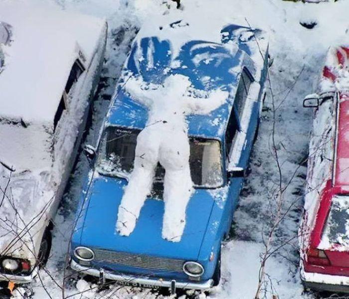 Туитър за снега в страната