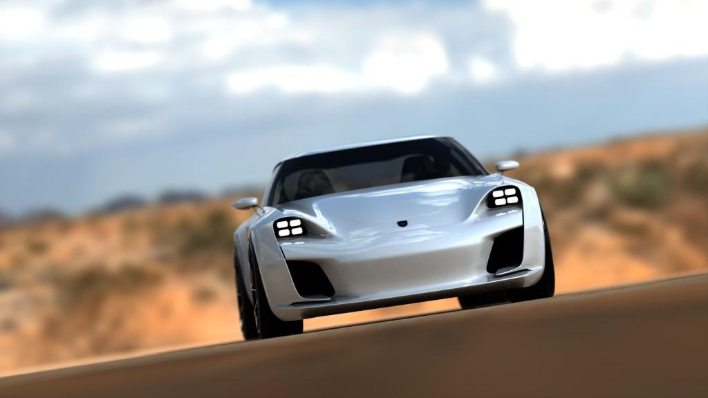 Дизайнерът на Bugatti Chiron създаде новата визия на Porsche 911