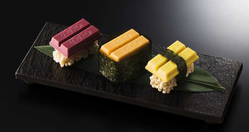 В Япония ядат суши с Кит кат (СНИМКИ)
