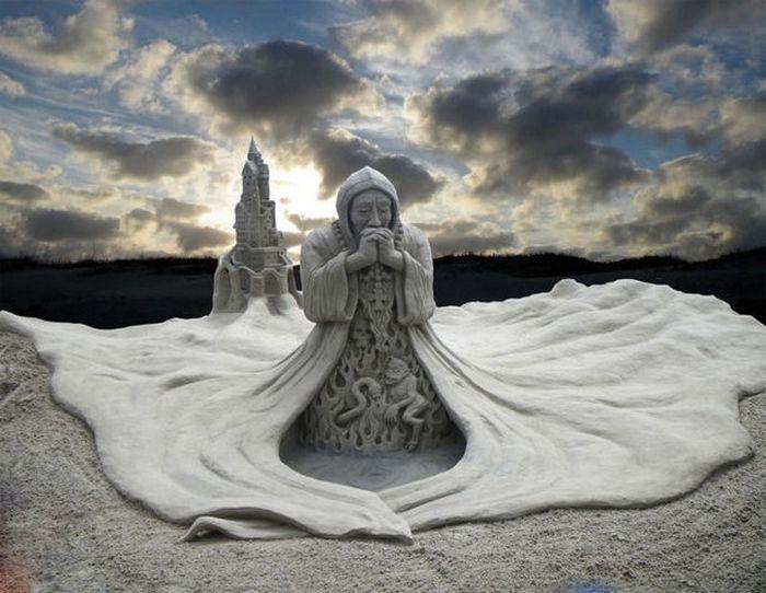 И всичко това само от песък (СНИМКИ)