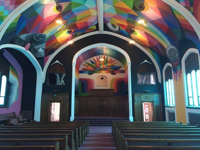 Откриха църква, която издига в култ марихуаната