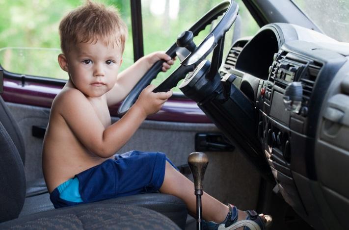 8-годишен закара с ван сестричката си до Мак Доналдс