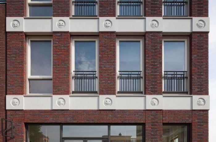 Сграда в Холандия се сдоби с емоджи иконки (СНИМКИ)