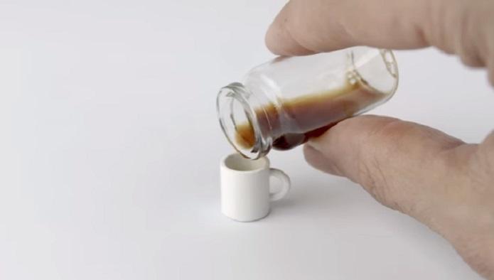 Най-малкото кафе в света (ВИДЕО)