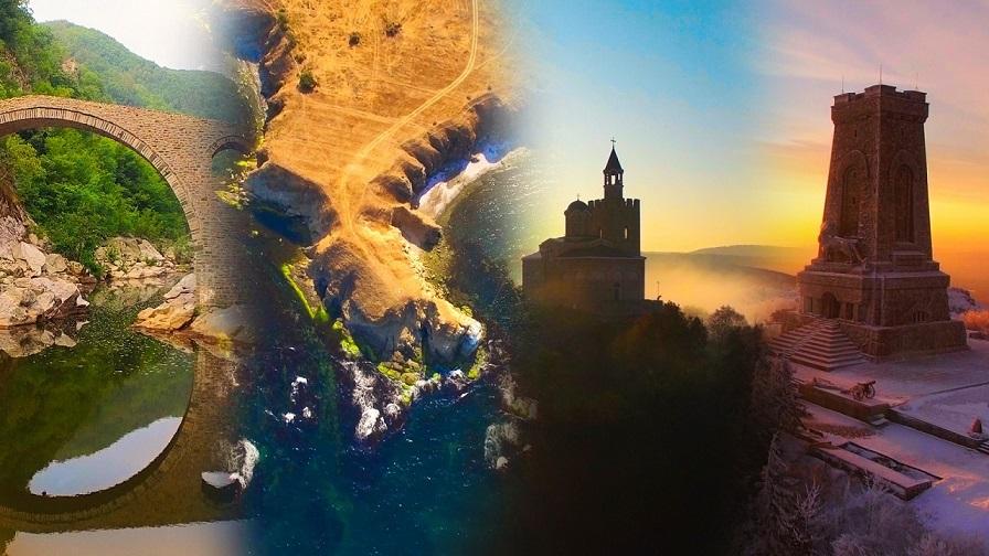 Настръхваш: Уникални кадри от най-красивите кътчета на България в този клип