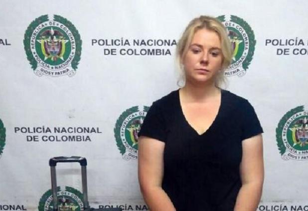 Хванаха жена с 18 плика кокаин на летище в Колумбия (СНИМКИ)