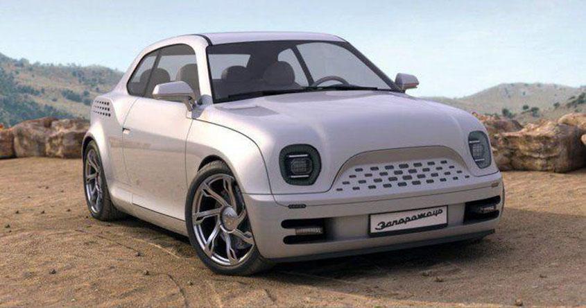 Запорожец се завръща с модел, който е заимстван от Porsche 965 (СНИМКИ)