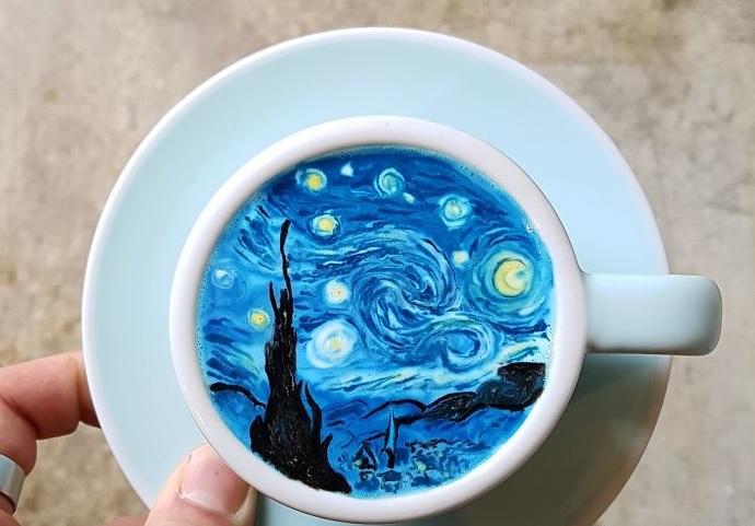 Кафето, което ще ти е жал да изпиеш (СНИМКИ)