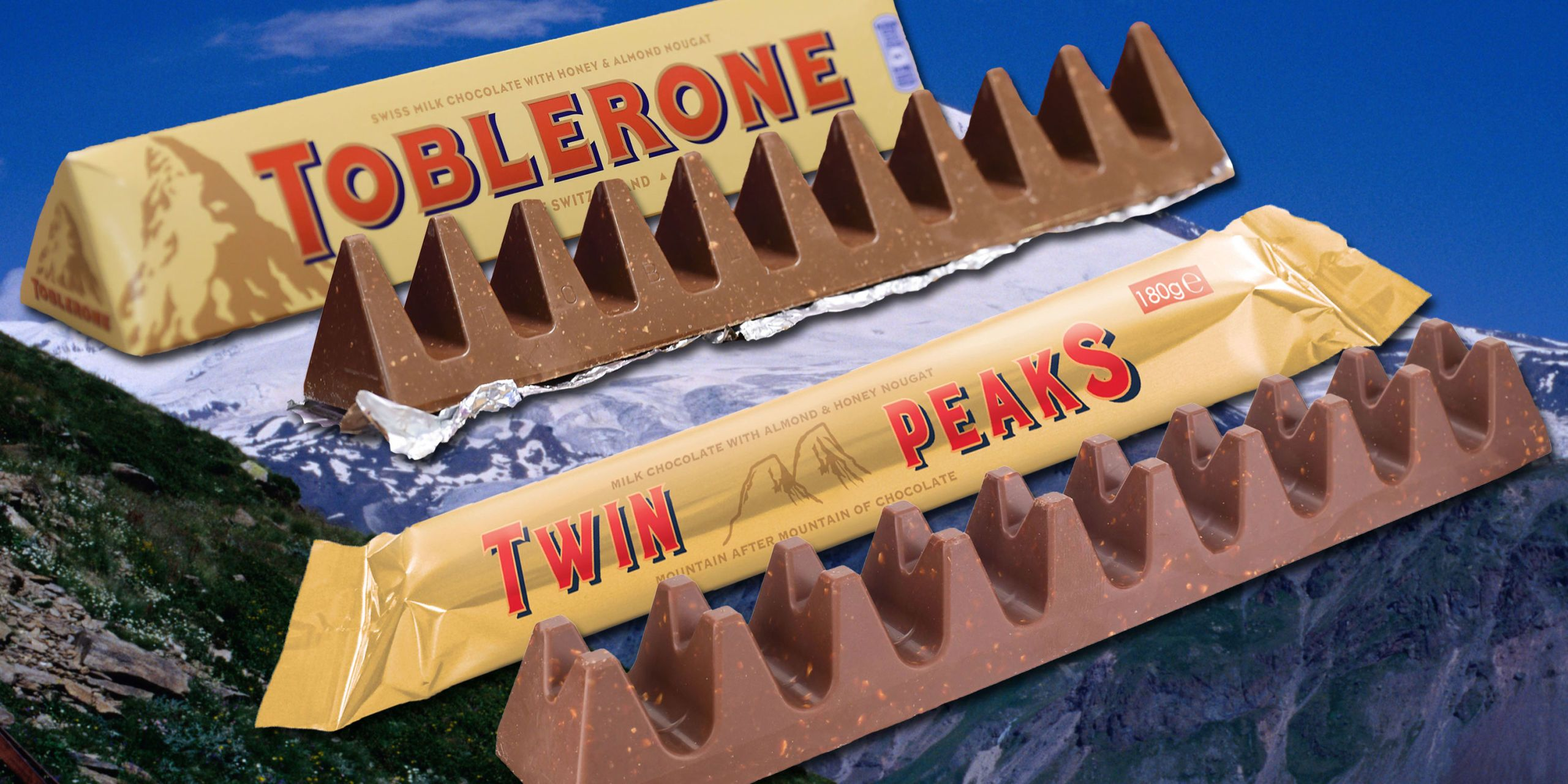 """Пуснаха шоколад """"Туин Пийкс"""", ще бори Тоблерон"""