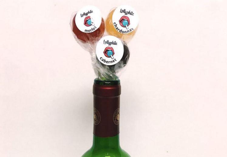 Уникално: Създадоха близалки с вкус на вино (СНИМКИ)