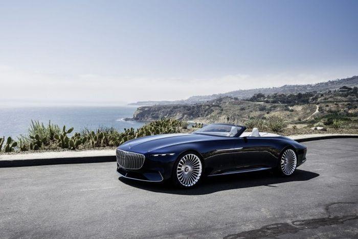 Луксът има ново име – Mercedes-Maybach cabriolet 6 (СНИМКИ)