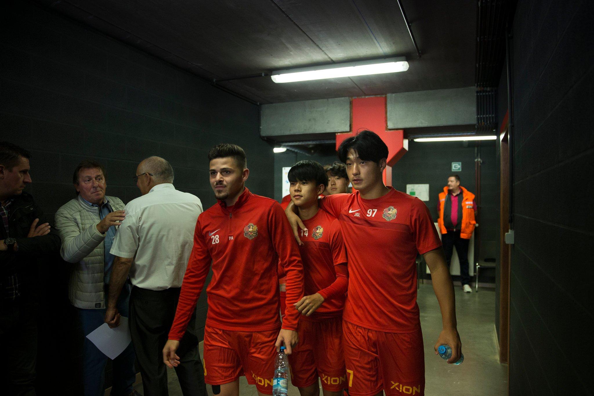 Азиатци правят риалити футбол в Белгия