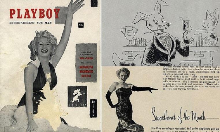 """В памет на Хю Хефнър: Първият брой на """"Плейбой"""""""