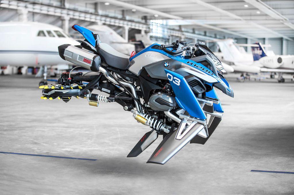 BMW показа концепцията на летящ мотор за бъдещето (СНИМКИ)