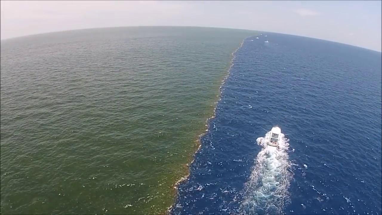 Двете морета, които се срещат, но никога не се сливат