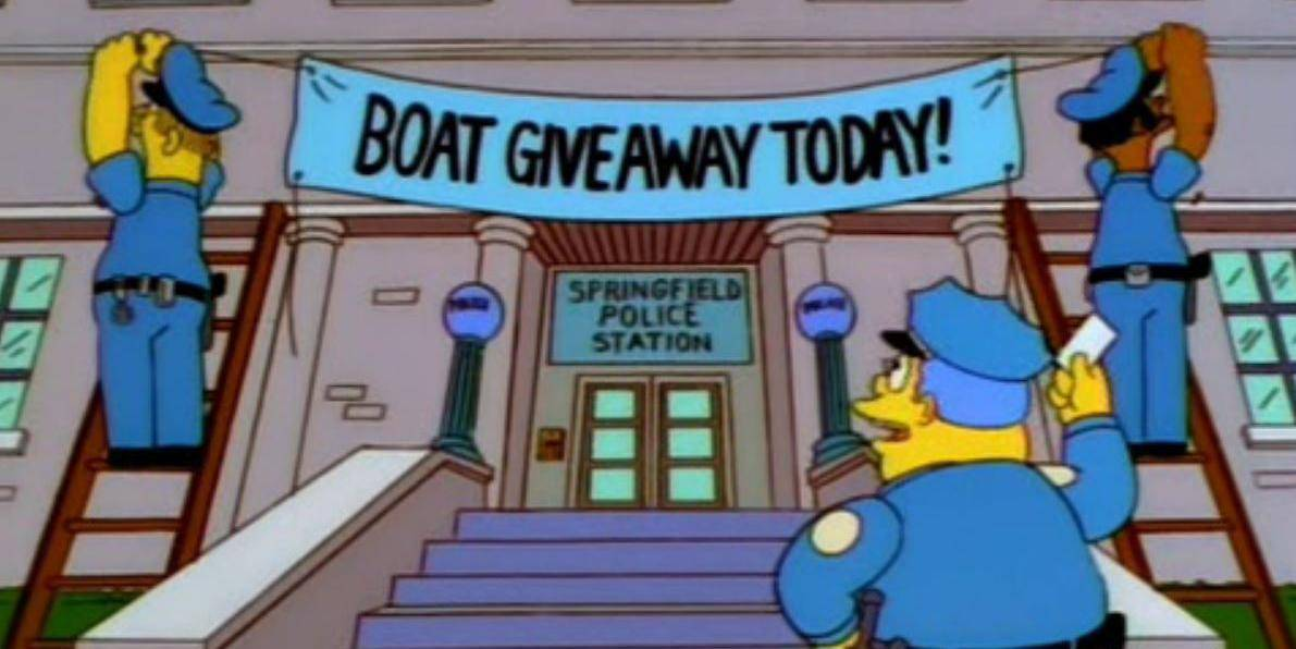 """Полицаи използваха трик от """"Семейство Симпсън"""" и заловиха 21 престъпници"""