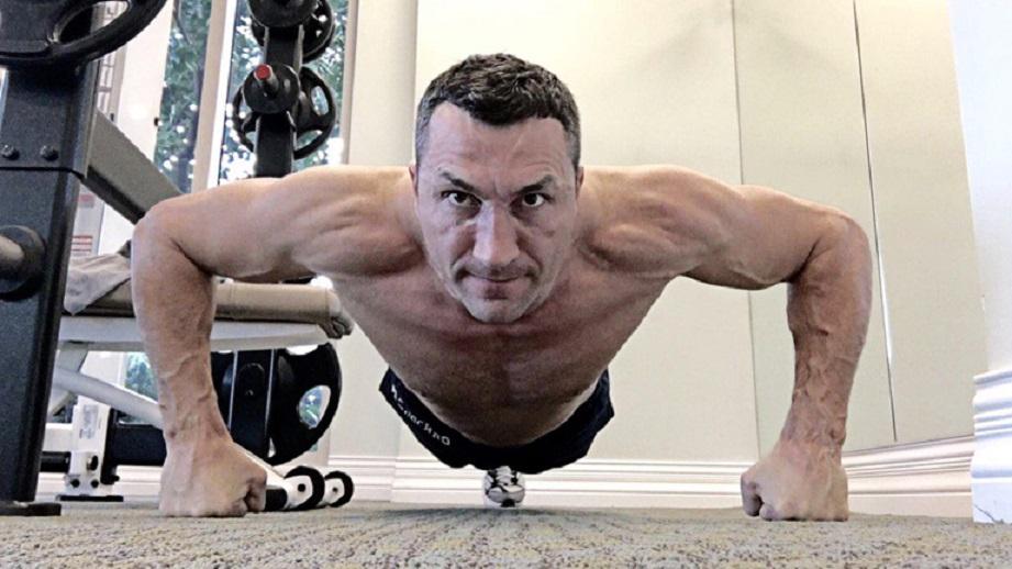 11 фитнес съвета от Владимир Кличко
