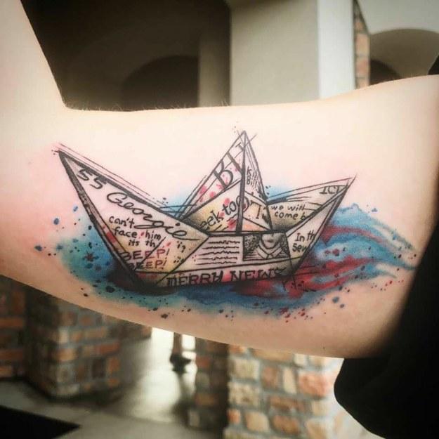 Татуировки, вдъхновени от филми на ужасите
