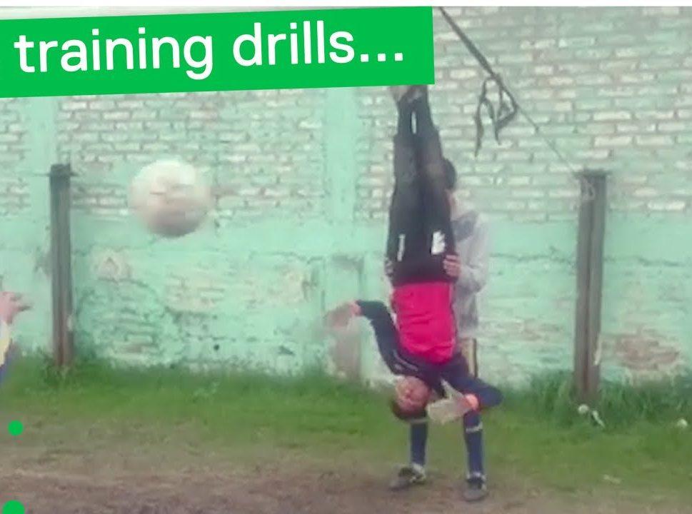 Припадаш: Тренировка за вратари, която ще те втрещи