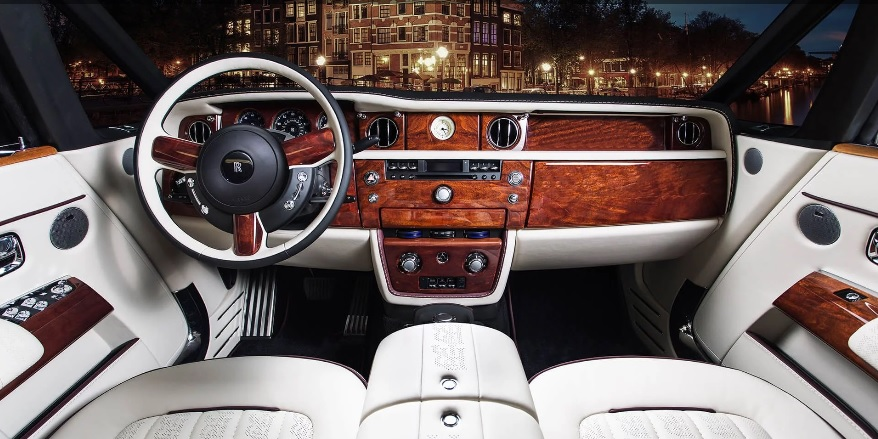 Българи преобразиха интериора на Rolls-Royce Phantom Drophead Coupe