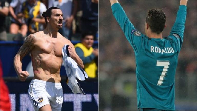 Доказахме: Шедьоврите на Златан и Роналдо еднакво красиви