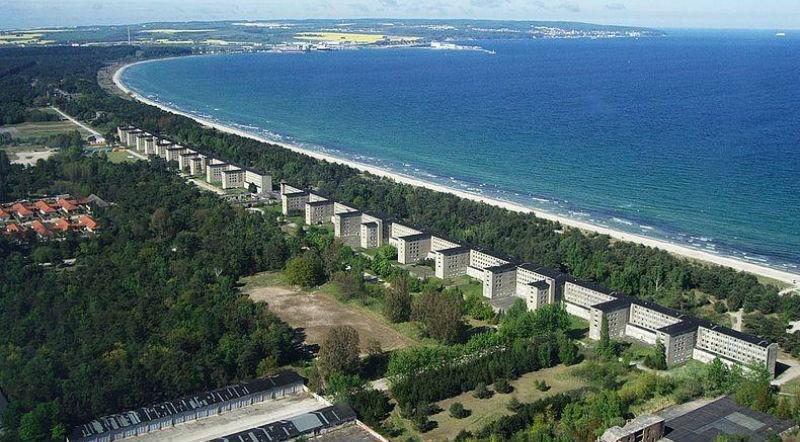Хитлер построява най-големия хотел в света, но той така и не видя туристи