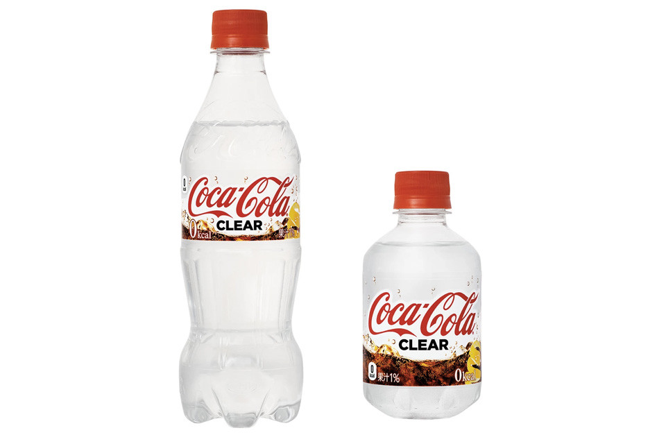 В Япония пускат безцветна Coca-Cola