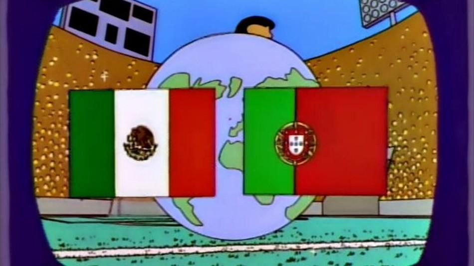 """Мексико – Португалия е финалът на Мондиала според """"Семейство Симпсън"""""""