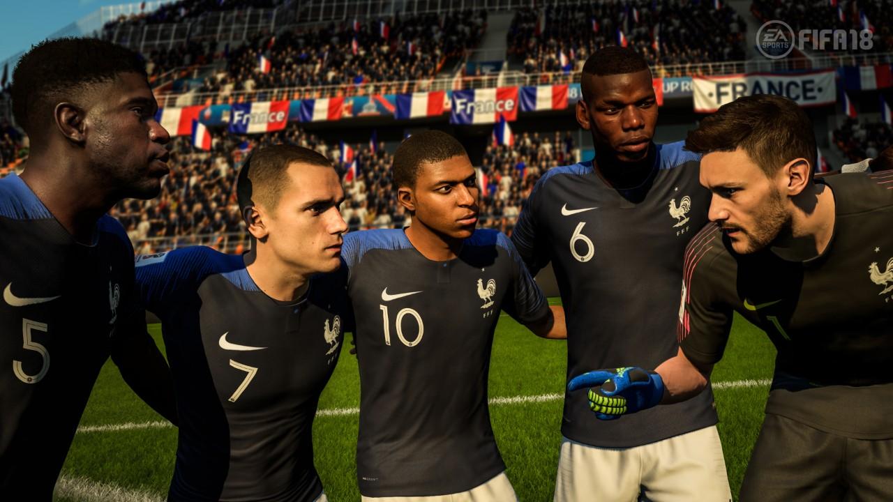 FIFA 18: Франция ще е новият световен шампион!