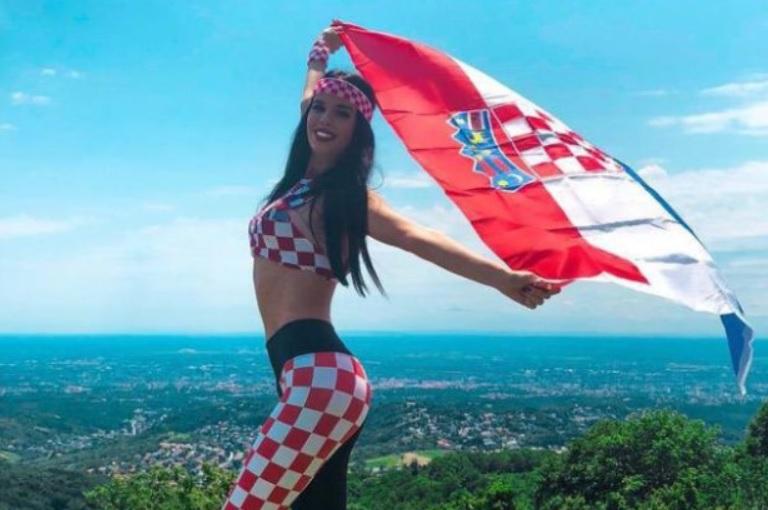 Хърватия трябваше да стане Световен шампион заради тази прекрасница (СНИМКИ)
