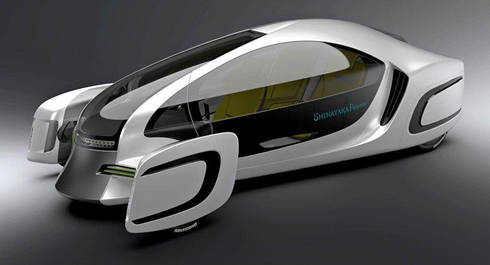Показаха първата кола, направена изцяло от пластмаса