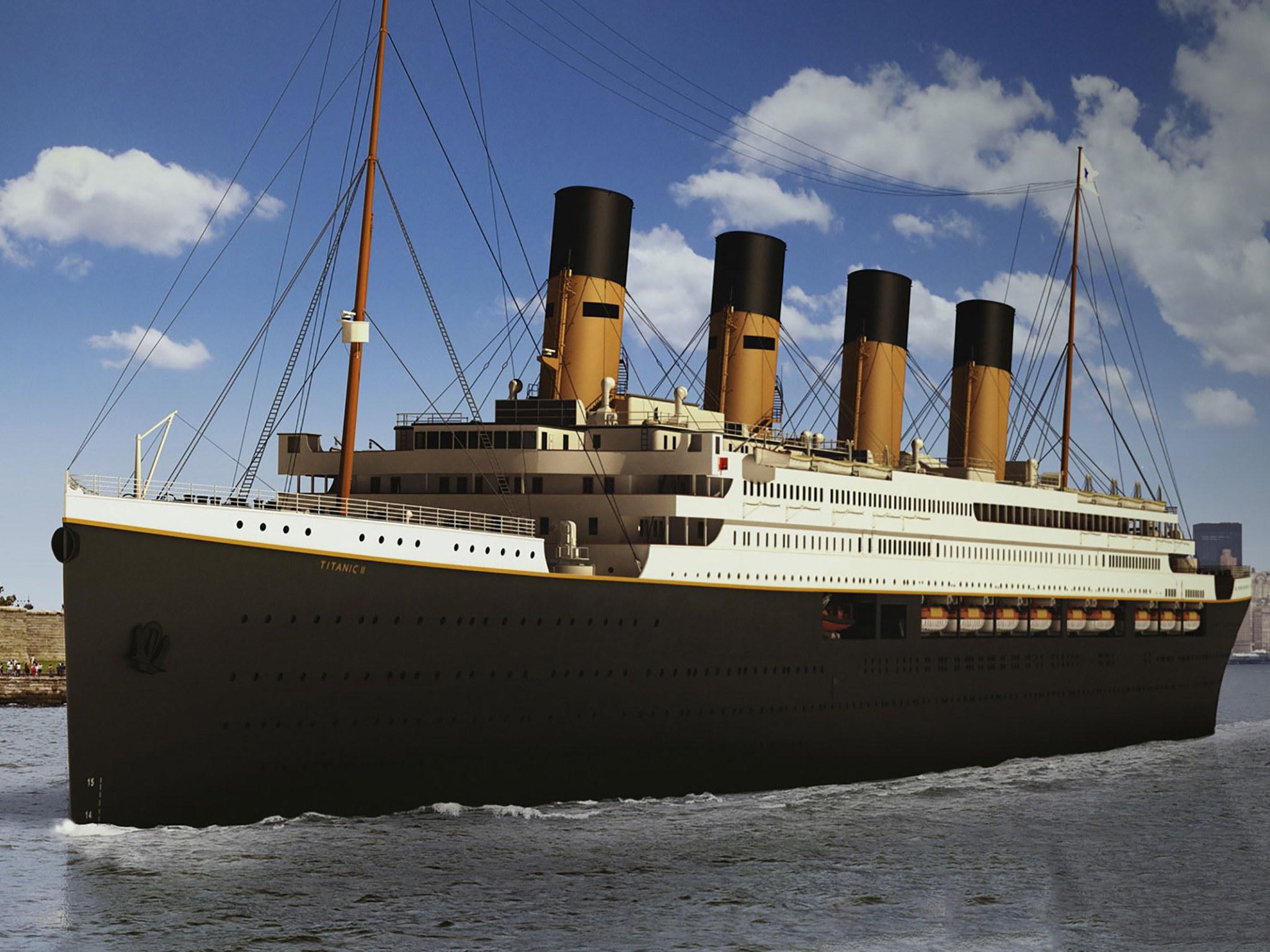 """""""Титаник II"""" тръгва по същия маршрут на потъналия си предшественик"""