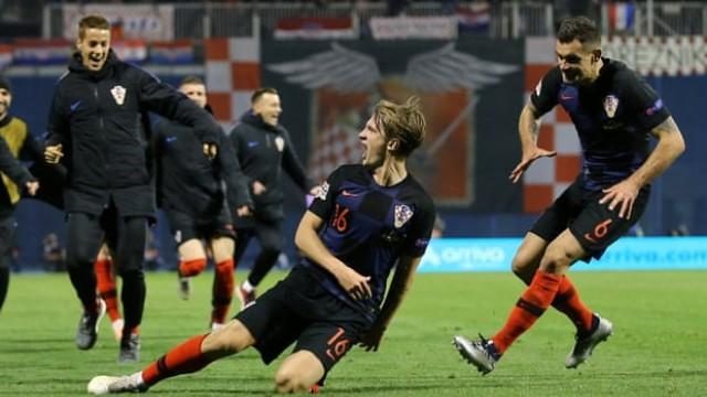 Дебютант наби 2 гола за Хърватия срещу Испания, драма до последните секунди (ВИДЕО)