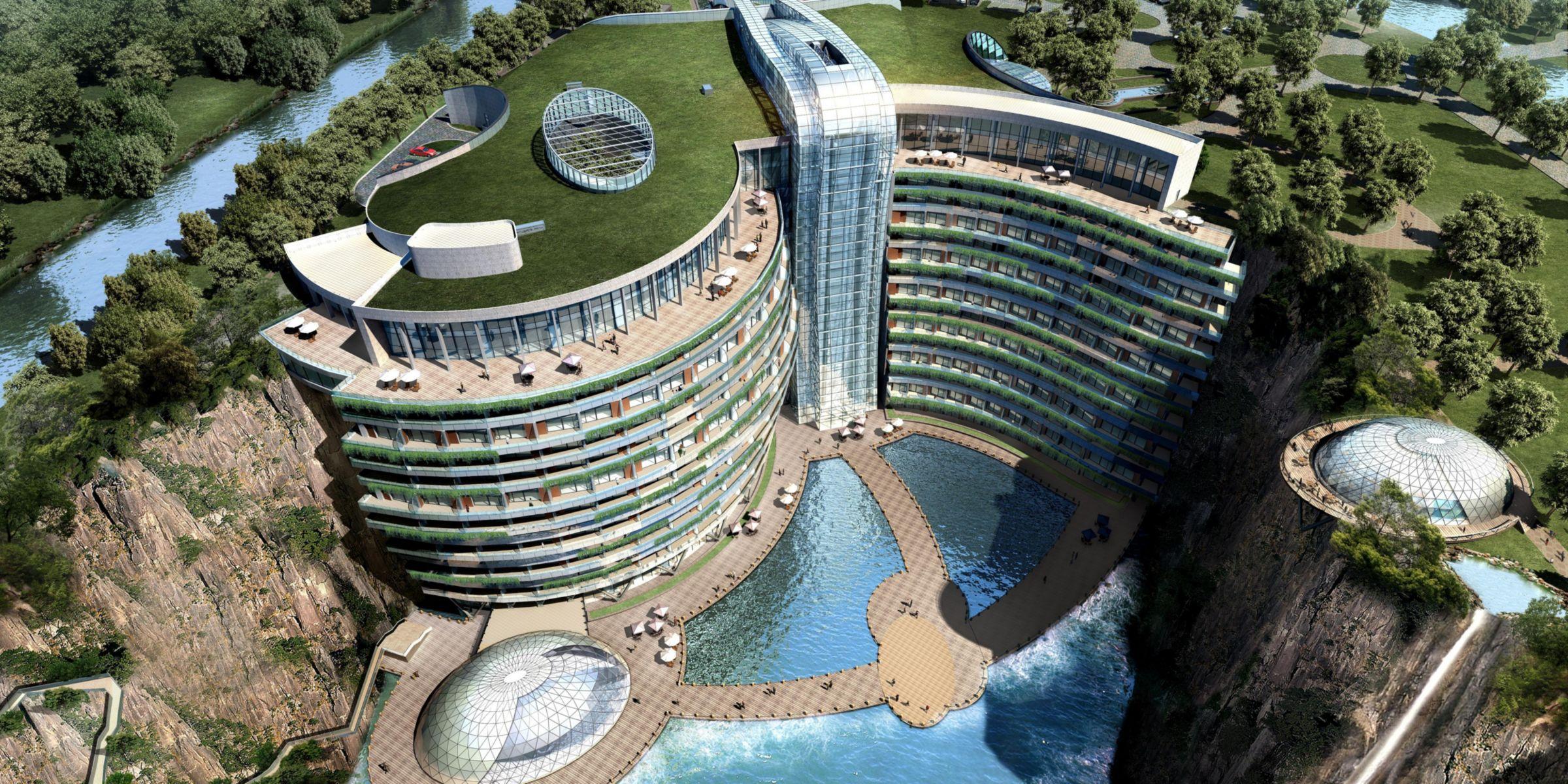 Кариера в Китай се превърна в луксозен хотел