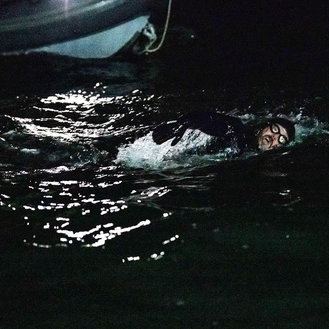 Мъж преплува 1780 мили за 157 дни
