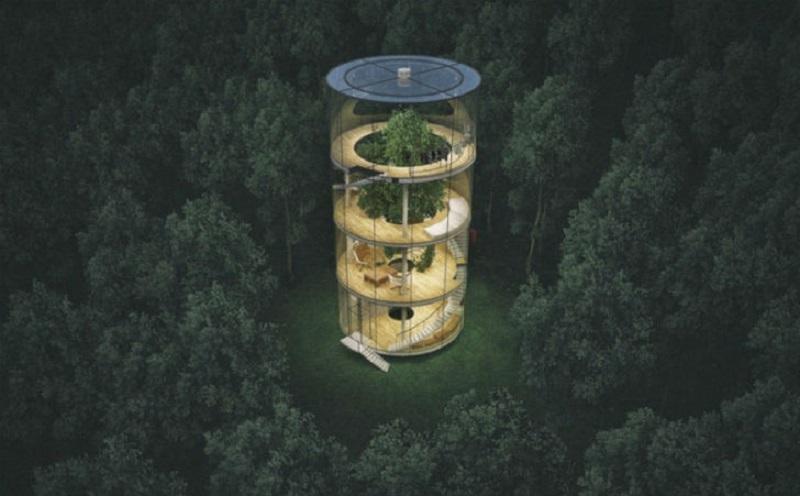 """""""Дървото в къщата"""" е проект за всеки, който иска да избяга от градския шум"""