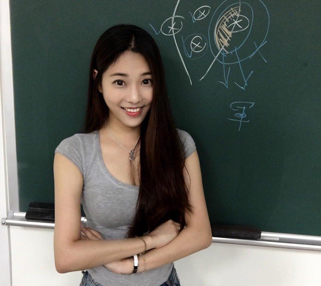 Най-яката учителка в Тайван (СНИМКИ)