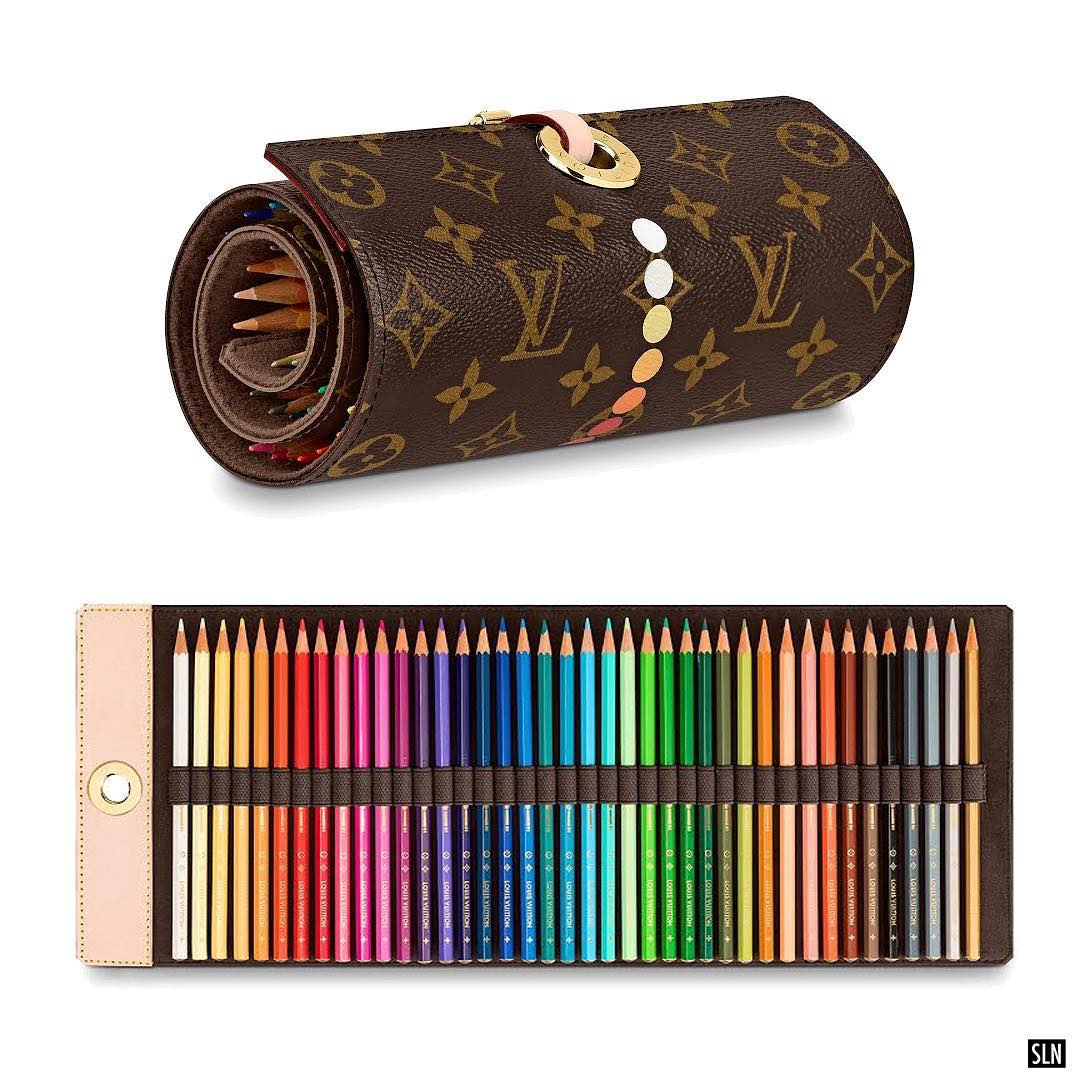 Louis Vuitton пуска моливи за рисуване за 1500 лева