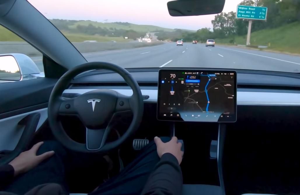 Автопилотът на Tesla от точка А до точка Б (ВИДЕО)